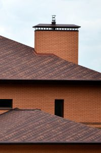 building with a beautiful clay tile roof