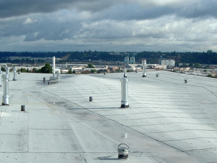 Built Up Roofs in Seattle WA - McDonald & Wetle