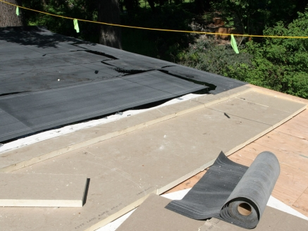 Top of Modified Built Up Roof - Portland, OR - McDonald & Wetle