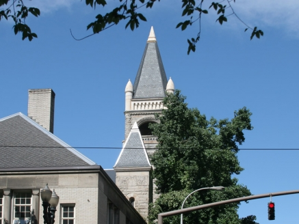 Church Slate Roof - Portland, OR - McDonald & Wetle