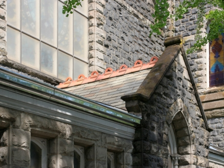 Slate Roof on Church - Portland, OR - McDonald & Wetle